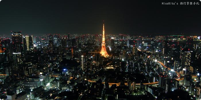 日本東京 東京夜景 六本木之丘 六本木Hills 六本木夜景 Tokyo city view 六本木大道 東京聖誕點燈 2014東京點燈0-
