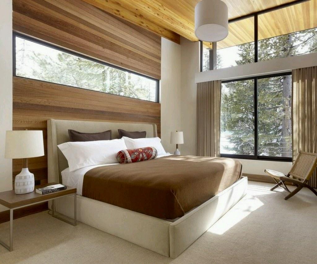 Modern bedroom designs wallpapers interior