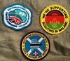 #wsj2011 and #scoutsafrica patches. #scoutsbotswana #scoutsmalawi #jamboreescouts #scoutsuk #blairatholl2016