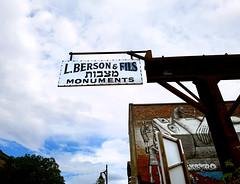 L. Berson & Fils Monuments - Montreal - est. 1922
