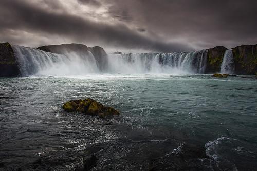 goðafoss waterfalls iceland jónóskar