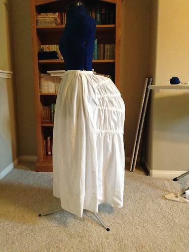 1880's Petticoat with Steels