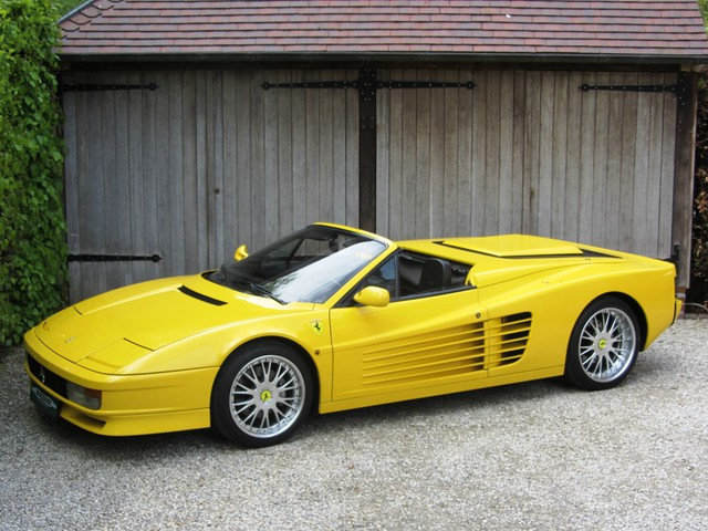 albion motorcars ferrari testarossa spyder 1987. Black Bedroom Furniture Sets. Home Design Ideas