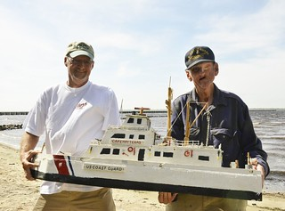 Model man of Belhaven creates Coast Guard cutters from scratch