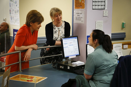 A&E waiting times getting healthier
