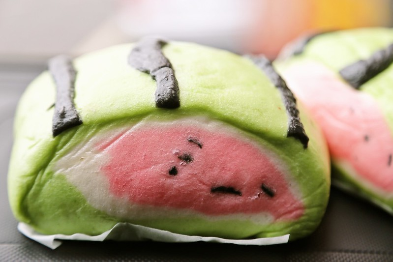 西瓜饅頭‧金軒包子店西瓜饅頭‧金軒包子店、西瓜饅頭在那裏買、西瓜饅頭宜蘭、頭城西瓜饅頭
