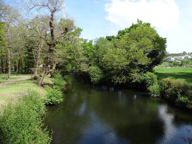 Río Eume en As Pontes de García Rodríguez