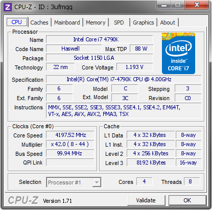 Cpu-Z v1.72.1 Full