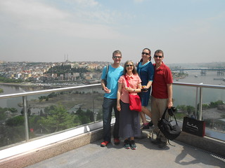 Group Picture Above Istanbul