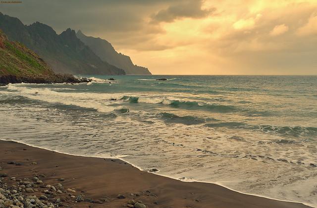 Taganana beach (Tenerife, Spain).