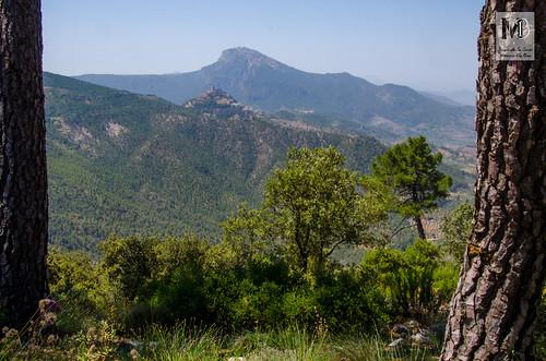 Yelmo y Segura de la Sierra desde las proximidades de Peñalta