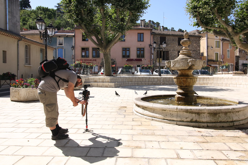 provence orange city square filming