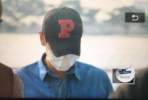 BIGBANG Departure Seoul Incheon to Foshan 2016-06-10 (2)