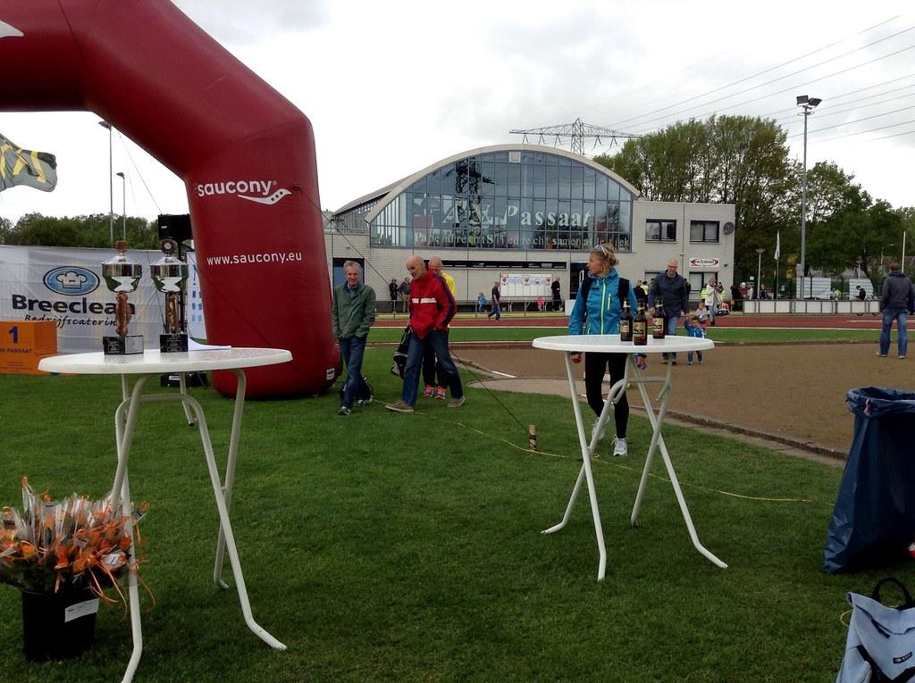 Terrein van de atletiekbaan van AV Passaat uit Papendrecht.