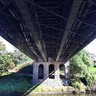 #Melbourne #YarraBankReserve #bridgeRd #richmond #Hawthorn-bridge from below