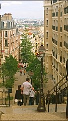 Parisian Streets in Montmartre