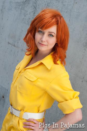 April O'Neil Cosplay