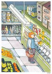 Shopping bear
