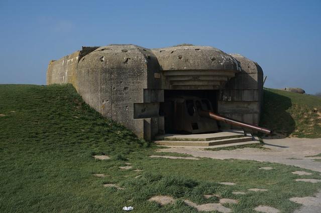 Gun battery at Longues-sur-Mer