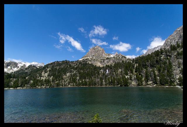 Fotografías del lago de la Ratera en Pirineos
