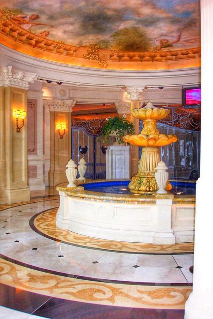 Niagara Falls Ontario ~ Canada ~ Niagara Fallsview Casino Resort  ~  Fountain
