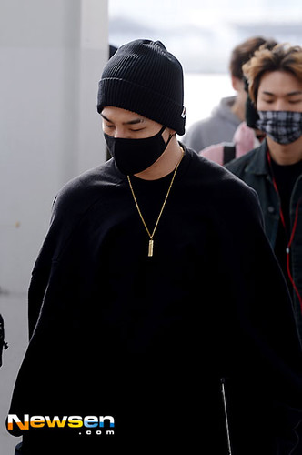 Big Bang - Incheon Airport - 24sep2015 - Newsen - 06