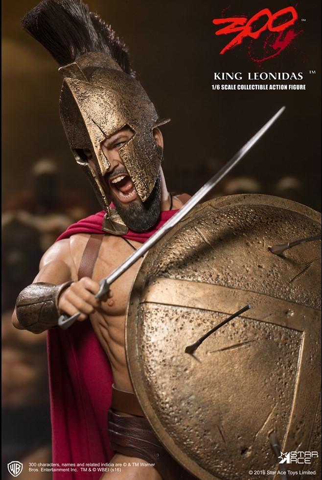 Star Ace Toys 300 壯士:斯巴達的逆襲【列奧尼達】King Leonidas 1/6 比例人偶作品
