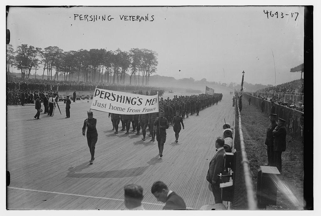 Pershing veterans (LOC)