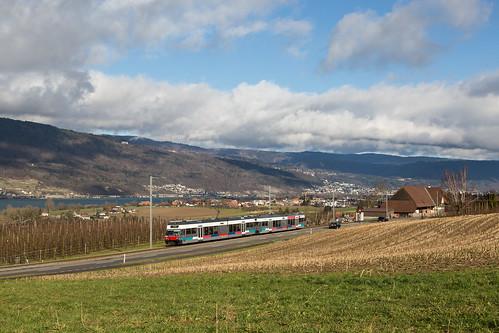 Mörigen | CH-BE (Bern) | 10.01.2015 | BTI-Be 2/6 503 + 509
