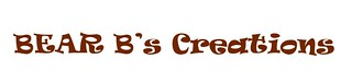 Bear B's Creations logo