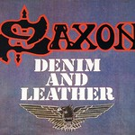"Saxon Denim and Leather NWOBHM 12"" VINYL LP"