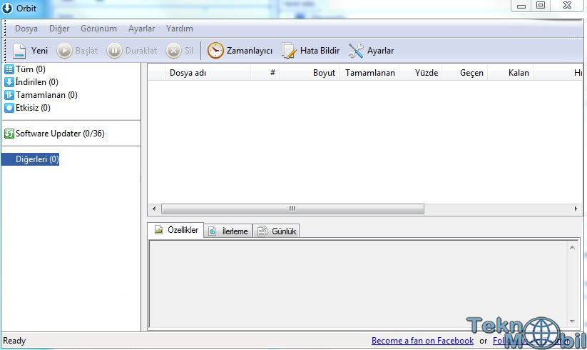 Orbit Downloader Türkçe