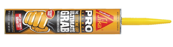 Sika Corporation   SikaBond Ultimate Grab - new extreme grip