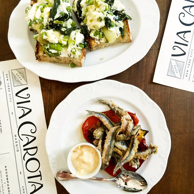 Via Carota + West Village + NYC