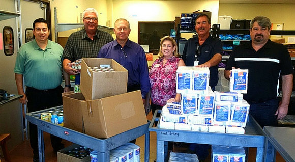 Oncor Food Drive Yields Nearly 7,000 Pounds, More Than $23,000