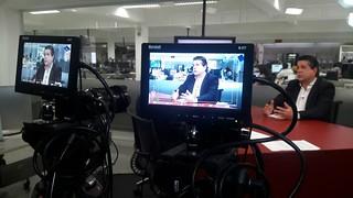 Em entrevista à TV Folha, David afirma que eleitor quer o novo