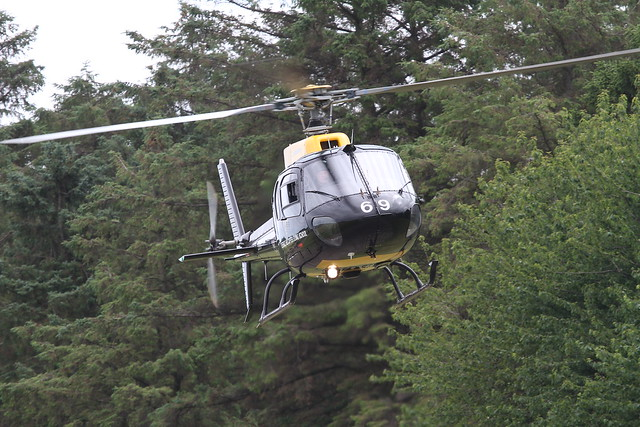 ZJ269 AS-350 EUROCOPTER EAST FORTUNE