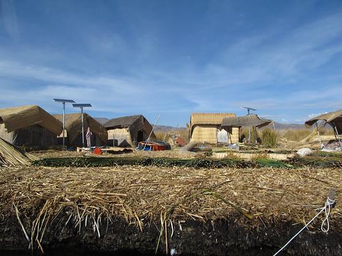 Lac Titicaca: les îles Uros