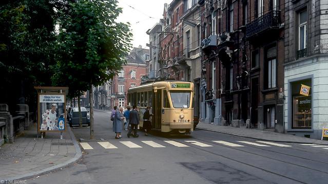 Met lijn 62 door Sint-Joost-ten-Node