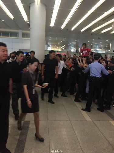 BIGBANG GDTOPDAE arrival Hangzhou 2015-08-25 126