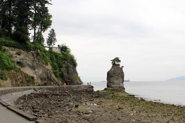 Vancouver Stanley Park Cliff