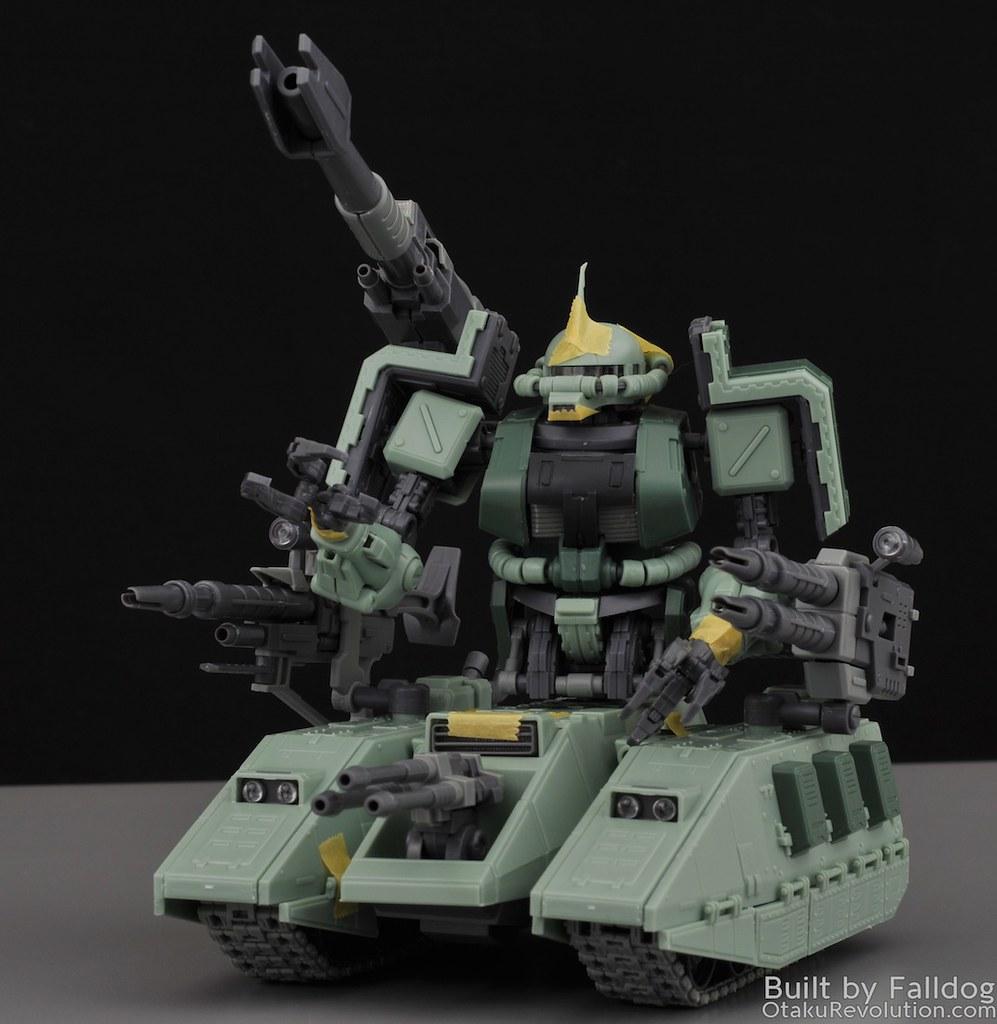Motor King - 1-100 Zaku Tank Review 5