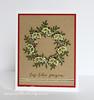 Pam Sparks Freida Wreath Christmas