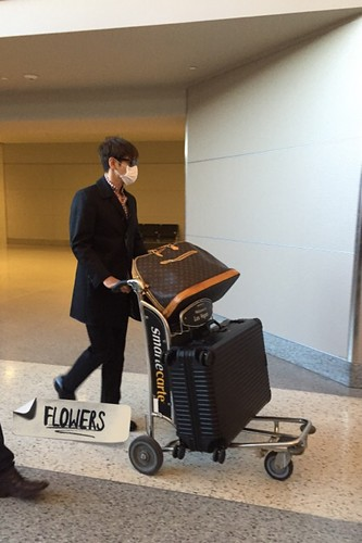 Big Bang - Las Vegas Airport - 30sep2015 - Flower - 07