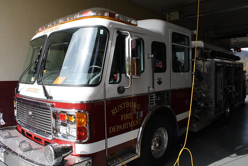 county fire 1 virginia engine american va volunteer campbell dept lafrance rustburg