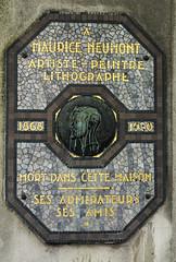 Photo of Multicoloured plaque number 11096