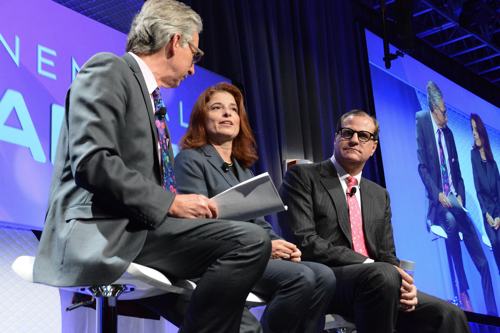 Exponential Finance | Bank Futurists: Who Is Bringing Change from the Inside? Gavin Michael, Linda Mantia, Bob Pisani