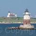 """Kate's Light"" Robbins Reef Lighthouse, Upper New York Bay"