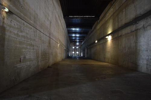 Un(e) alvéole-bunker de la base de Saint-Nazaire