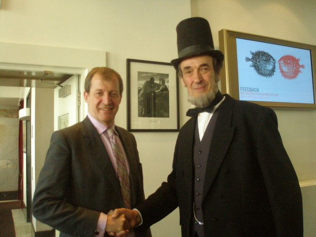 Header of Alastair Campbell